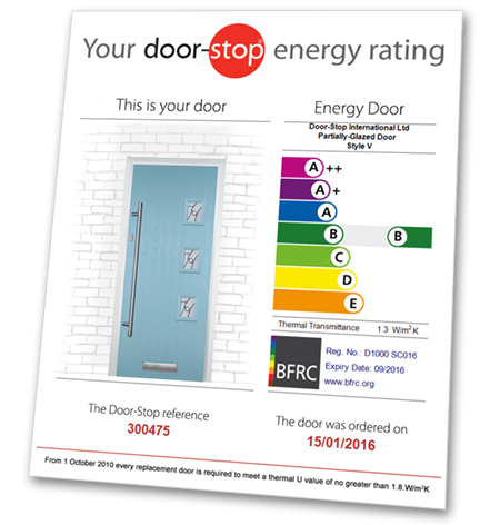 bespoke energy rated doors glasgow