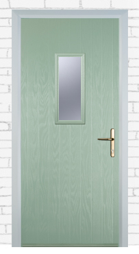 1 Square Chartwell Green Composite Fire Doors Glasgow
